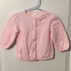 12 month pink cardigan just one you by Carter's